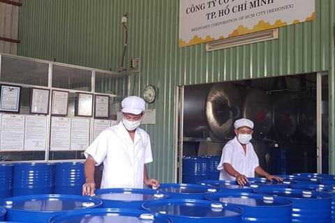 Hội trợ triển làm sản phầm tại TP HCM