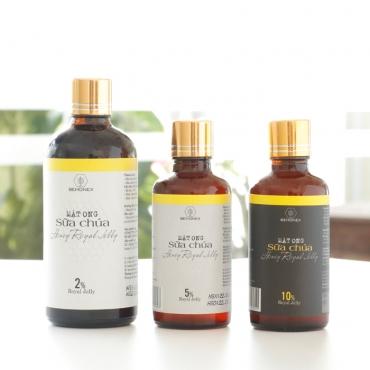 Bộ sản phẩm mật ong sữa chúa BEHONEX