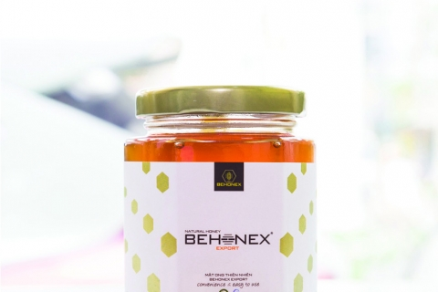 Mật ong xuất khẩu BEHONEX 180 ml