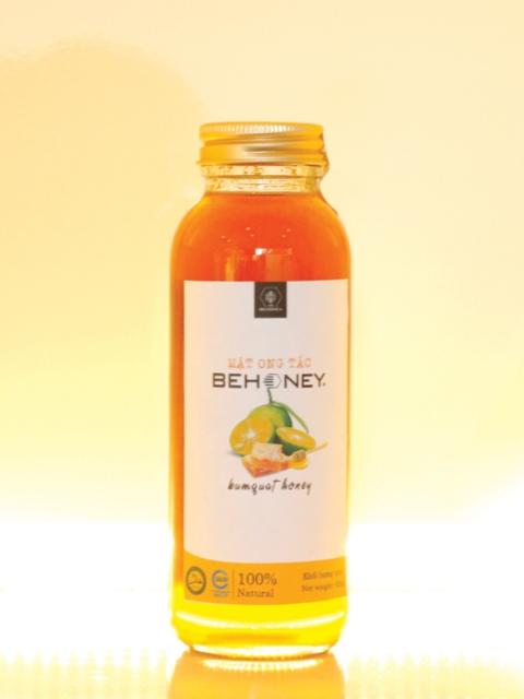 Mật ong Tắc Behoney 420 g