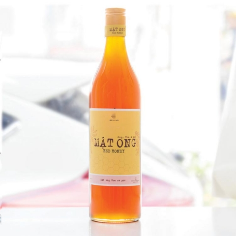 MẬT ONG HOA CAFE BEHONEY 600 ML