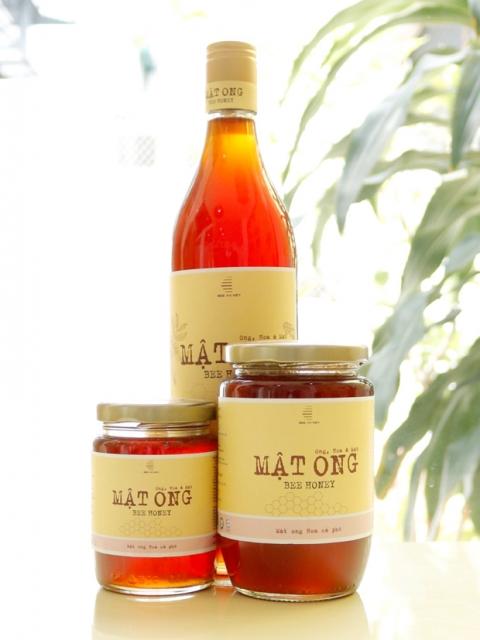 Bộ sản phẩm Mật ong hoa Cà phê Behoney