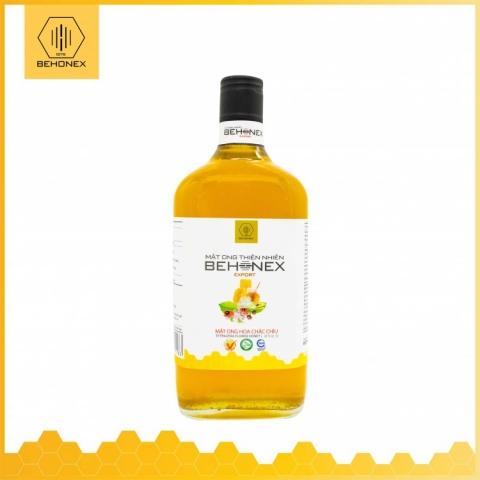 Mật ong hoa chặc chìu BEHONEX 600 ml 2